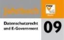 Buchcover Jahrbuch Datenschutzrecht und E-Government 2009 (Ausschnitt)