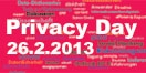 Tagung Privacy Day 2013 - 26. Februar 2013