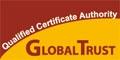 GLOBALTRUST Standardlogo klein - 120 * 60 - jpg-Datei