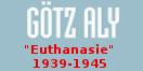 """Cover - Die Belasteten - """"Euthanasie"""" 1939-1945. Eine Gesellschaftsgeschichte (Ausschnitt)"""