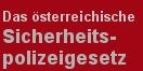 Cover - Das �sterreichische Sicherheitspolizeigesetz - Autoren: Michael Lepuschitz und Thomas Schindler (Ausschnitt)
