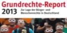 Cover - Grundrechte-Report 2013 - Herausgeber: Till M�ller-Heidelberg, Elke Steven,... (Ausschnitt)