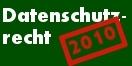 Cover - Datenschutzrecht 2010 - Hrsg. Raschauer (Ausschnitt)