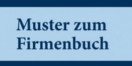 Cover - Muster zum Firmenbuch - Autor: Wilhelm Birnbauer (Ausschnitt)